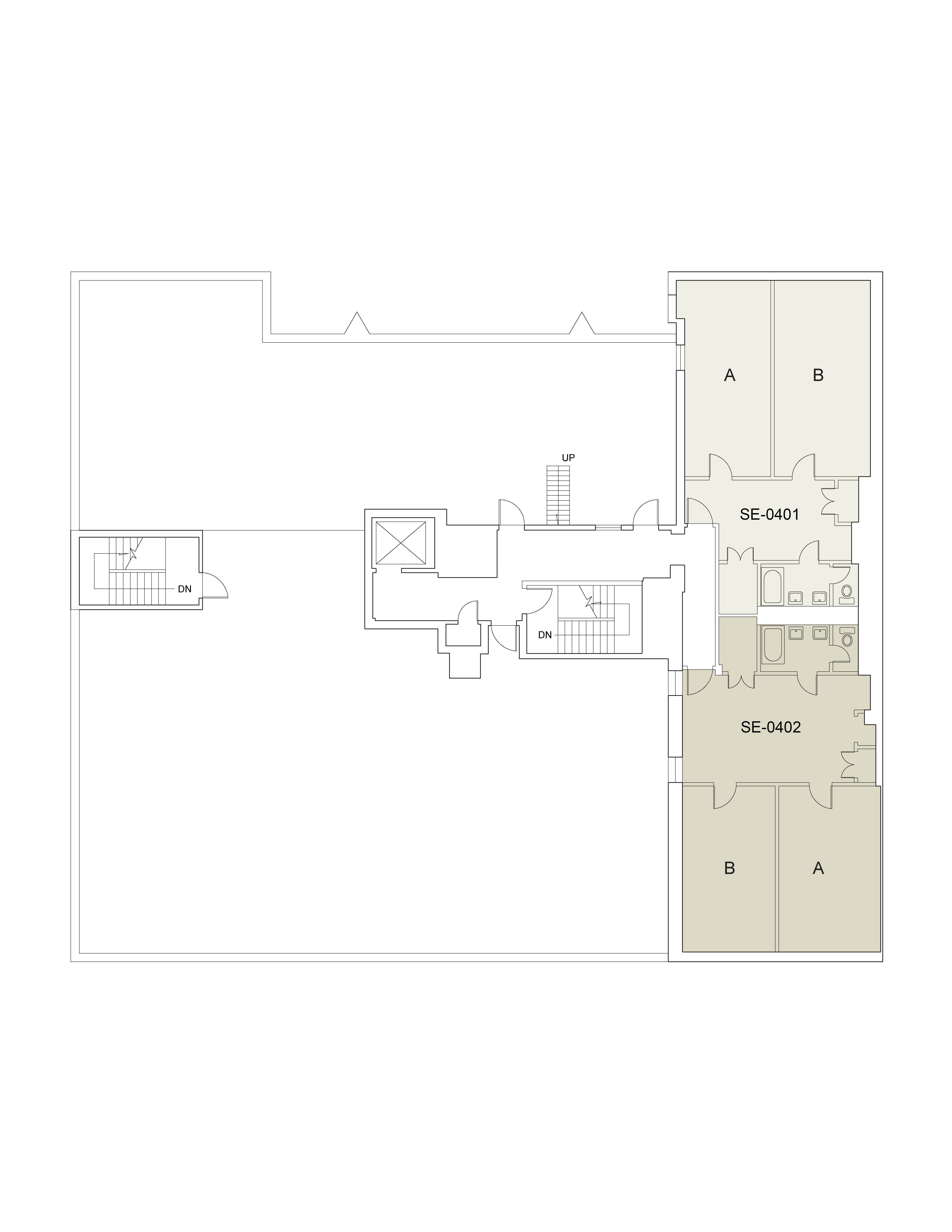Floor plan for 7th St. Floor 04