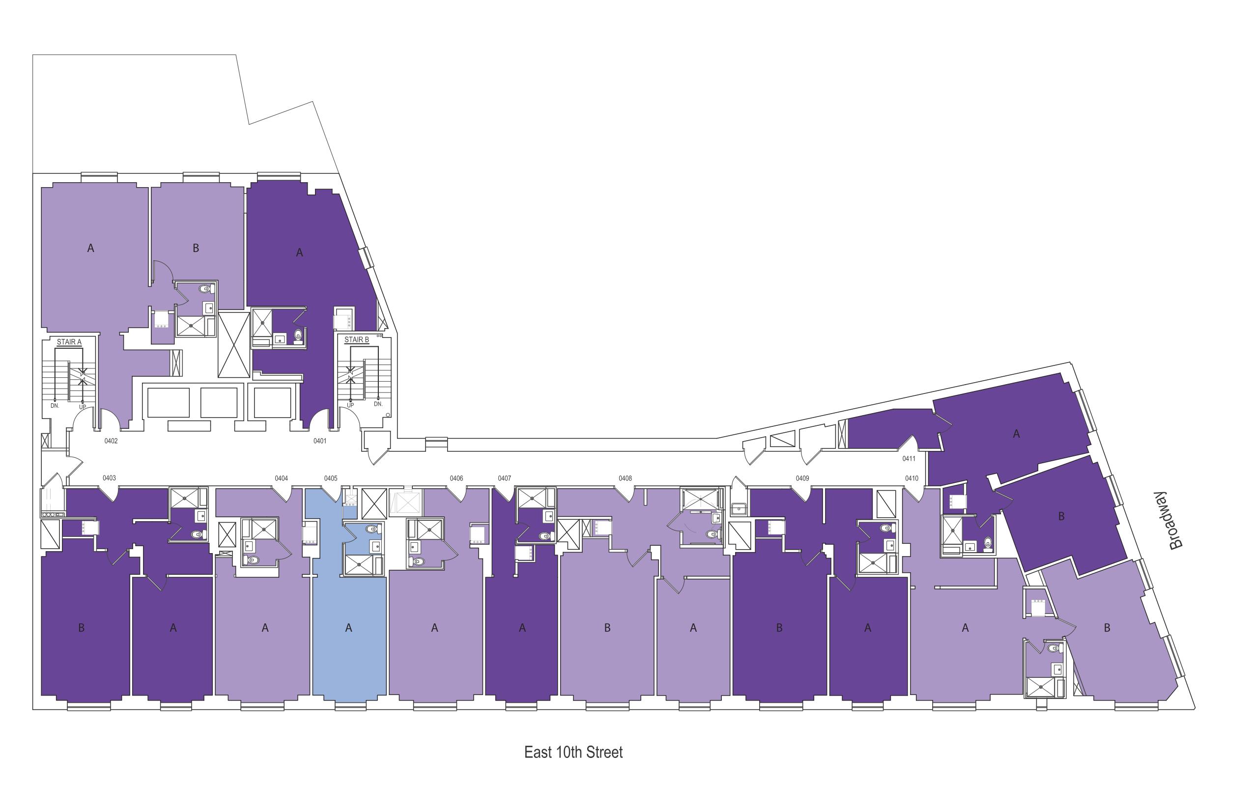Nyu Gramercy Green Floor Plan Nyu Residence Halls