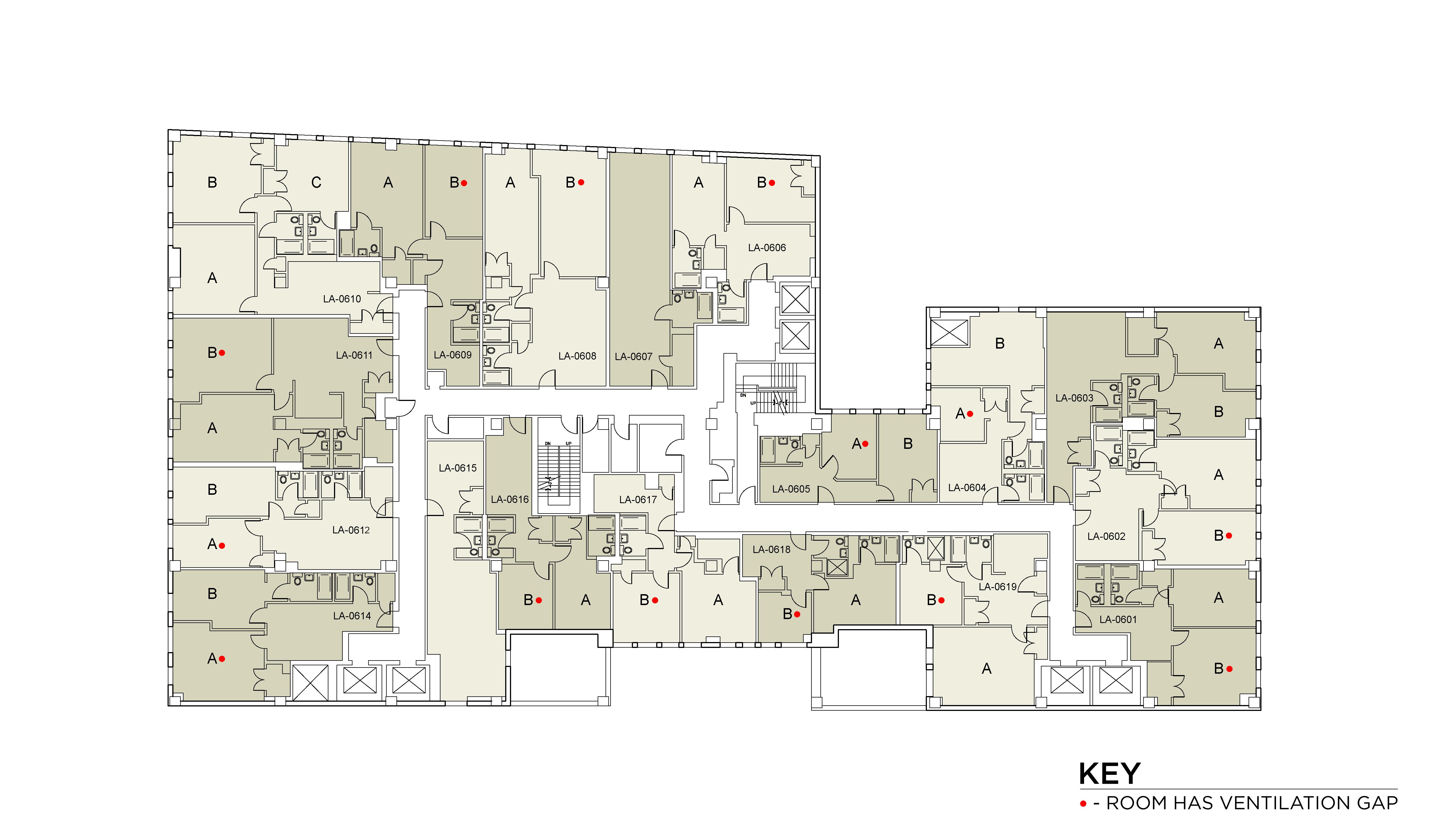 Floor plan for Lafayette Floor 06