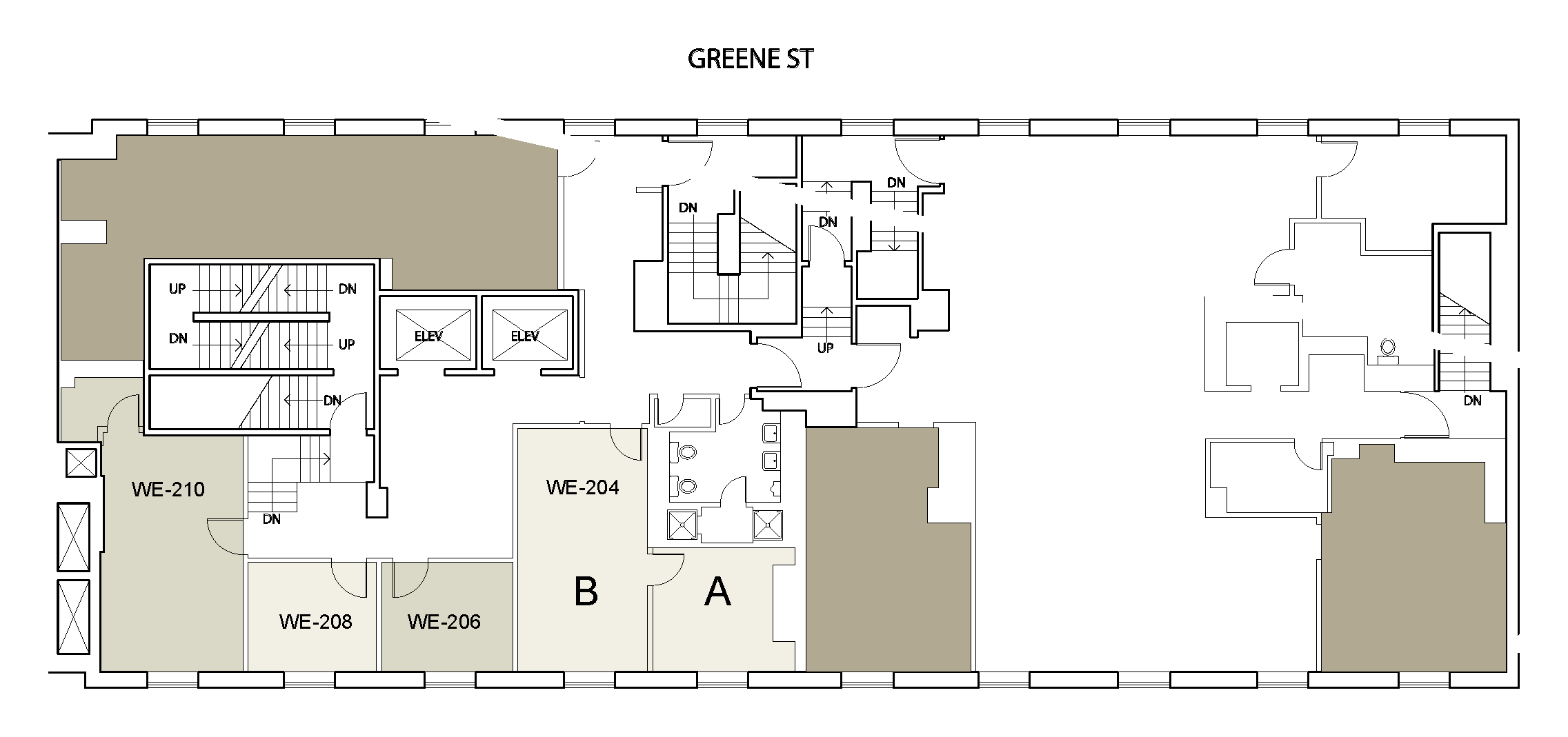 Floor plan for Weinstein Tower East 02