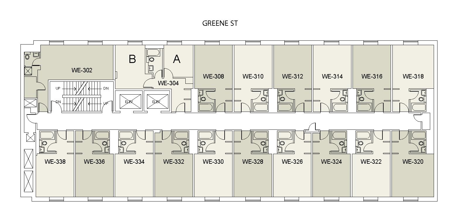 Floor plan for Weinstein Tower East 03