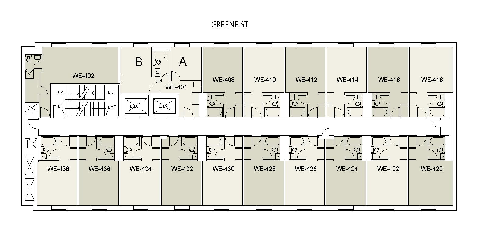 Floor plan for Weinstein Tower East 04