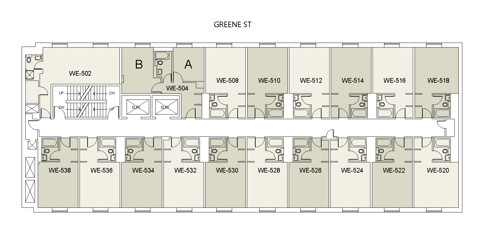 Floor plan for Weinstein Tower East 05